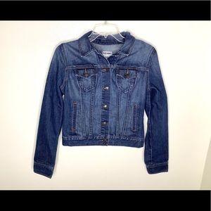 < Old Navy Classic Denim Jacket >